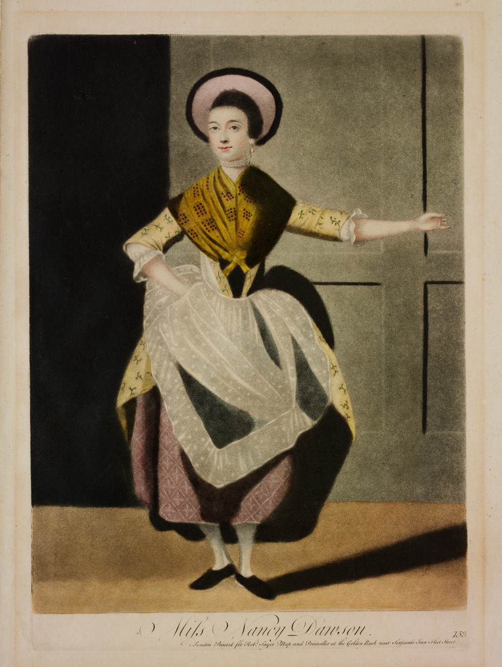 the origins of ballet victoria and albert museum nancy dawson hand coloured aquatint print london england early 19th century museum no e 4968 1968