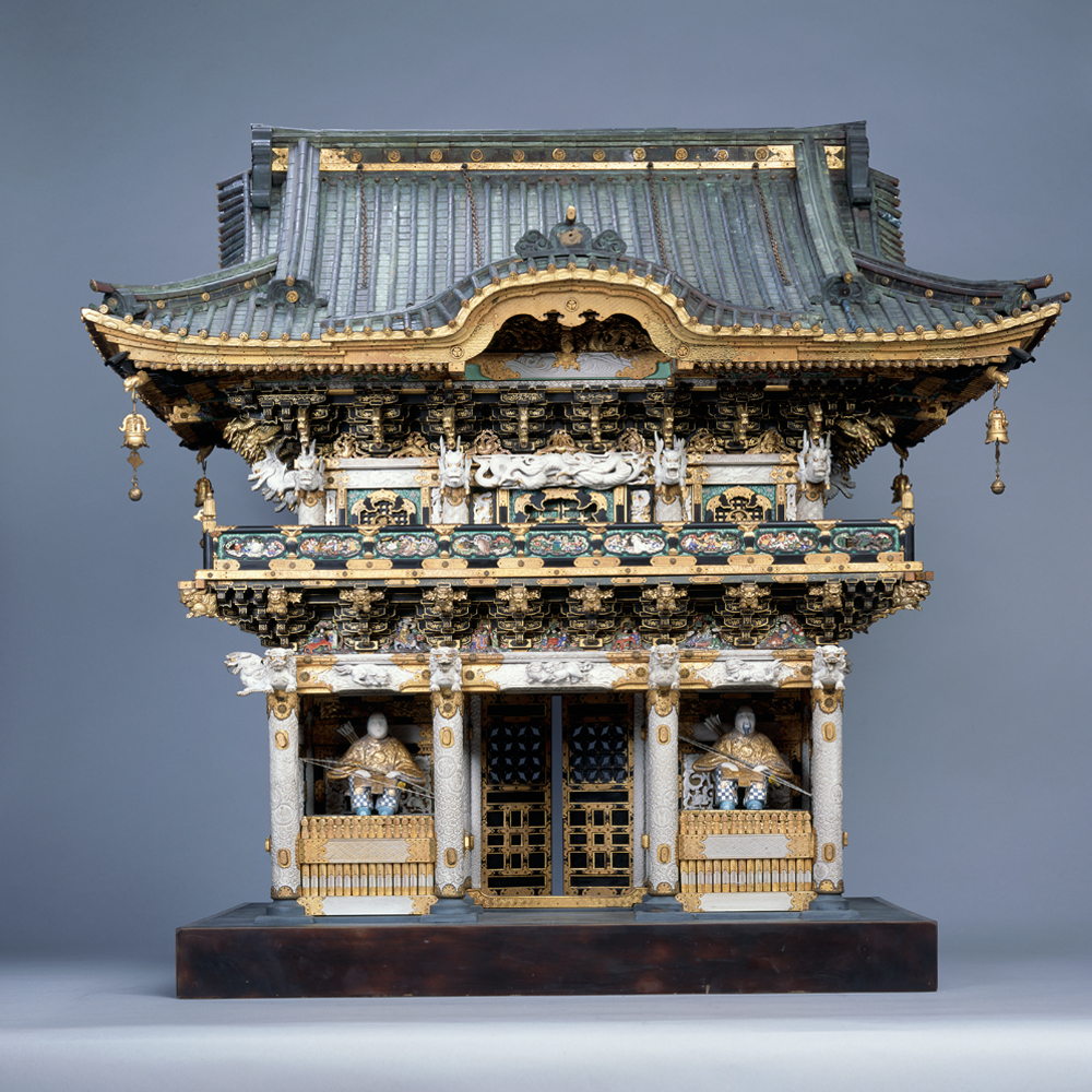 Model Of Yomei Mon Gate At Nikko Japan 1875 1900 Museum