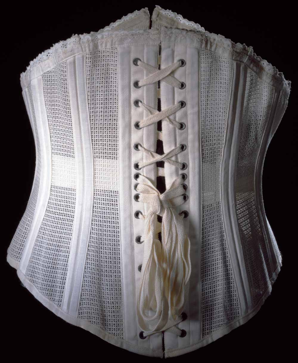 17779e8476 Corsets and Bustles from 1880-90 - the Move from Over-Structured ...
