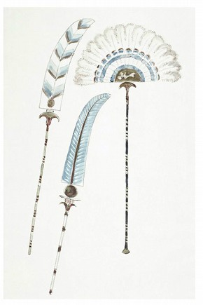 Fan design by Oliver Messel. Museum no. S.372-2006