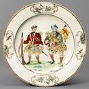 Plate, unknown maker, about 1745. Museum no. C.29-1951