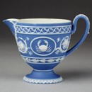 Cream jug, Josiah Wedgwood and Sons, about 1790. Museum no. 1275-1855