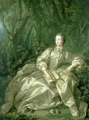Francis Boucher, 'The Marquise of Pompadour', oil on canvas, 1758. Museum no. 487-1882.