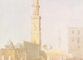 Owen Jones, 'Tomb near Cairo', 1833. Museum no. SD.533