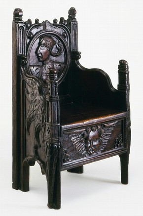 Armchair, unknown maker, about 1540. Museum no. W.59-1950