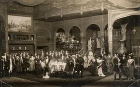The Whip, mansion interior, photograph, Drury Lane, London, September 1909. © Victoria & Albert Museum, London