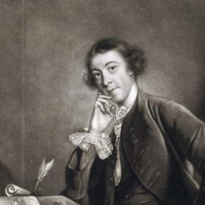 Mezzotint of Horace Walpole by James McArdell (about 1729–65), 1757, after a portrait by Joshua Reynolds. Museum no. 22285