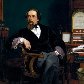 Charles Dickens by William Frith, 1859. Museum no. F.7