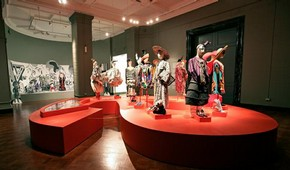 Anna Piaggi: Fashion-ology exhibition on display in the Contemporary Gallery, 2006