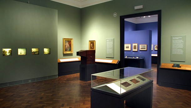 Gainsborough's Showbox & Constable's Oil Sketches, room 88