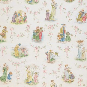 'The Months', nursery wallpaper, 1893. Museum no. E.1823-1934