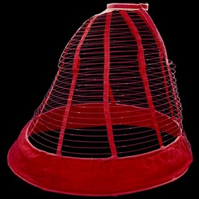 Crinoline cage, about 1860. Museum no. T.150-1986
