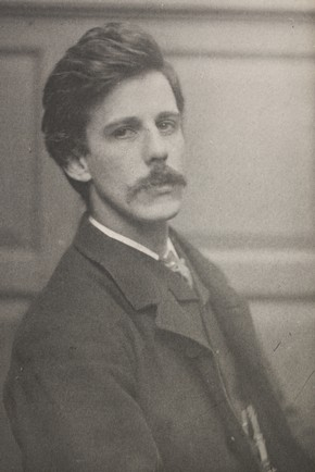 Frederick Hollyer, photograph of painter and museum administrator, Dugald MacColl, 1884. Museum no. PH.7649-1938