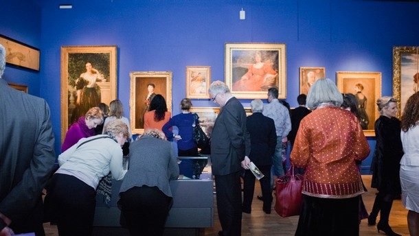 Private view of the 2011 exhibition The Cult of Beauty: The Aesthetic Movement 1860 – 1900
