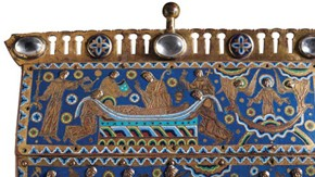 The Becket Casket (detail), Limoges, France, about 1180. Museum no. M.66-1977, © Victoria and Albert Museum