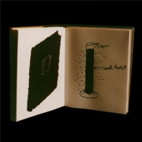 &#39;Out of the trees and into the wood&#39;, artist&#39;s book by John Dilnot, published by Fifty Fingers, London, England, UK, 1985. NAL pressmark: X890147 