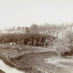Yar near Kum-i-shahidun, Yotkan, Sir Marc Aurel Stein, 1906-1908. Photo 392/26(825), © The British Library Board