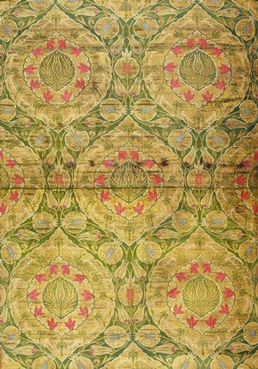 Figure 3 - Woven silk, Turkey, around 1550-1600.Museum no. 1356A-1887. Reproduced by Arthur Silver as part of the Silvern Series, image no. 37
