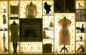 'Curiosity Cabinet' for the exhibition Spectres: When Fashion Turns Back, 2005