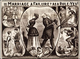 'Is Marriage a Failure?', 1891. The British Library
