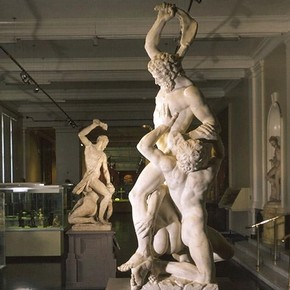 Samson slaying a philistine, 1560-1562, Museum no. A.7-1954