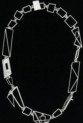'Cubist Necklace', Catherine Morris, judged winner of the Metalwork and Jewellery category, Inspired by 2006