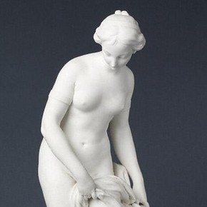 Figure of a bather, Étienne-Maurice Falconet, about 1766-1773. Museum no. 384-1874