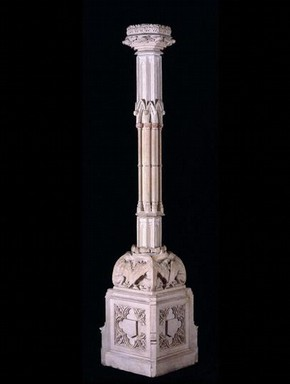 Coade stone candelabra, 1810. Museum no. A.92-1980