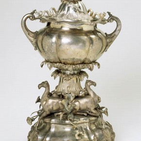 Cup and Stand, late 19th century. Museum no. 02616
