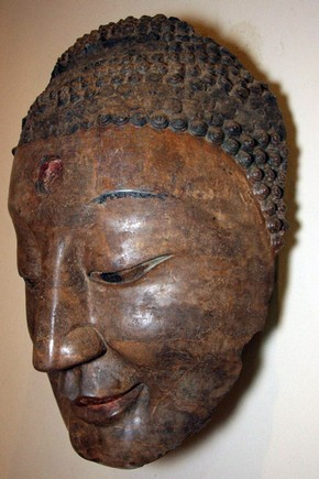 Buddha's Head, side view. Museum no. A.98-1927.