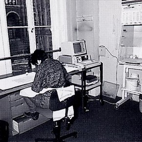 Jane 'Barefoot' in her NAL studio