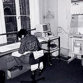 Jane 'Barefoot' in her NAL studio