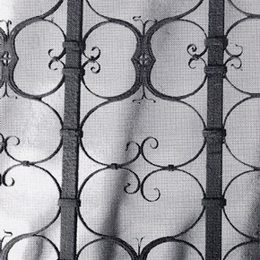 Fig. 1 Wrought iron nave screen