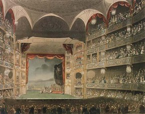 Drury Lane Theatre, John Bluck, 1808