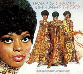 The Supremes in Michael Travis' Butterfly Dresses on the album Cream of the Crop