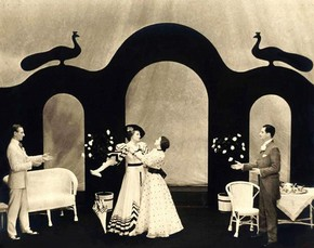 Act II at the Lyric, Hammersmith, 1930 (click image for larger version)