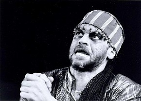 Ben Thomas as King Lear, Talawa Theatre Company, 1994