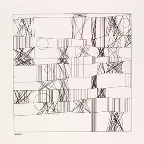 Hommage à Paul Klee, Frieder Nake, 13/9/65 Nr.2, 1965. Museum no. E.951-2008