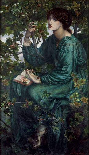 The Day Dream, Dante Gabriel Rossetti, 1880. Museum no. CAI.3. © Victoria and Albert Museum, London.