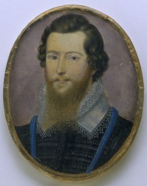 Portrait of Robert Devereux, 2nd Earl of Essex, by Isaac Oliver, 16th century. Museum no. E.1177-1988, © Victoria and Albert Museum, London