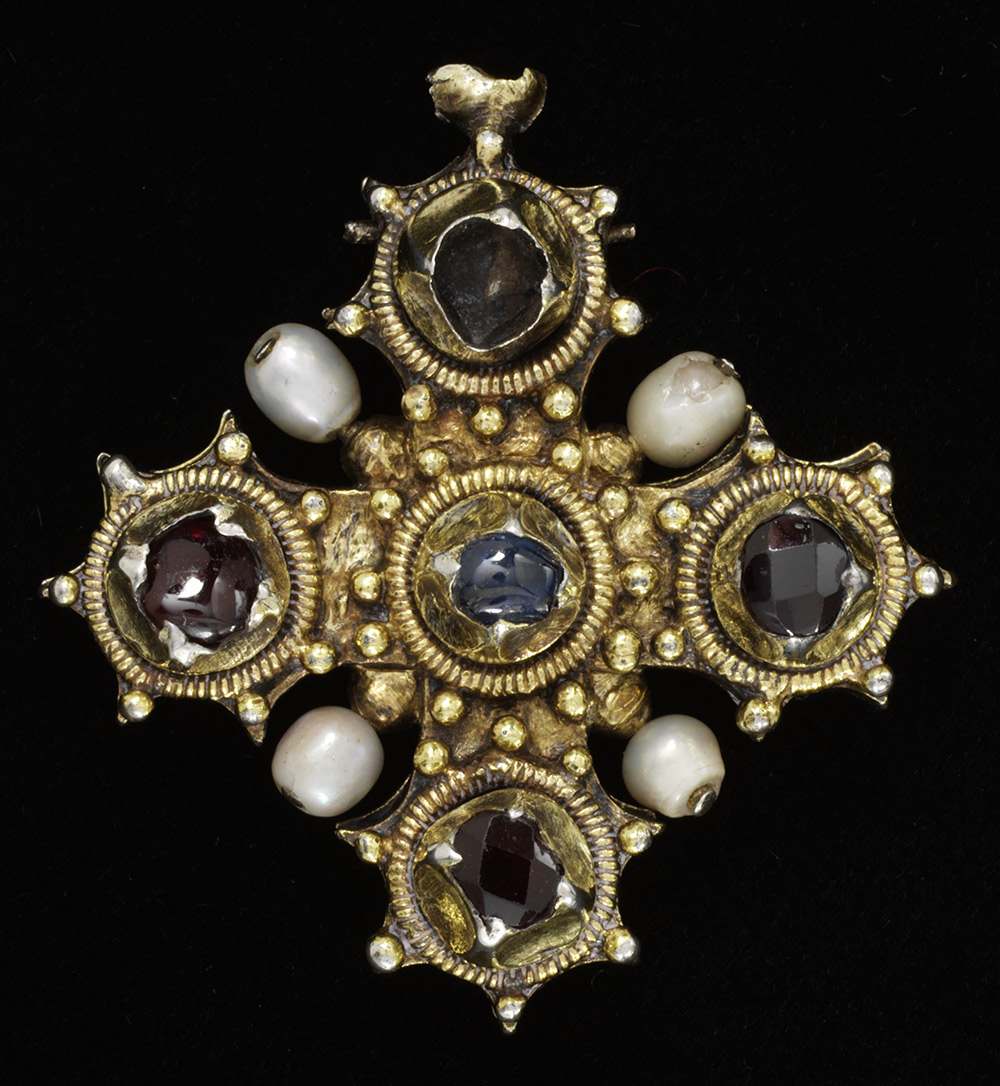 Pendant reliquary cross A 14th Century Cross