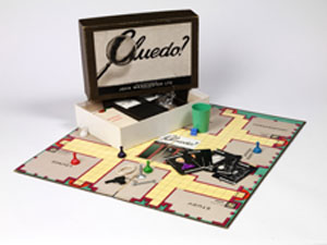 Cluedo, John Waddington Ltd, England, 1950 copyright Victoria and Albert Museum
