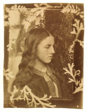 Kate Dore, Oscar Gustaf Rejlander possibly in collaboration with Julia Margaret Cameron, c. 1862, albumen print.  Museum no. PH.258-1982 @ Victoria and Albert Museum, London