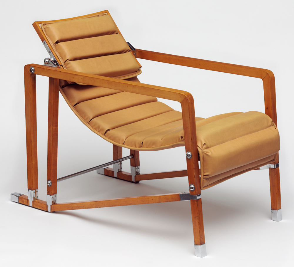 Armchair, Designed And Made By Eileen Gray, Before 1929. Museum No.  Circ.578 1971