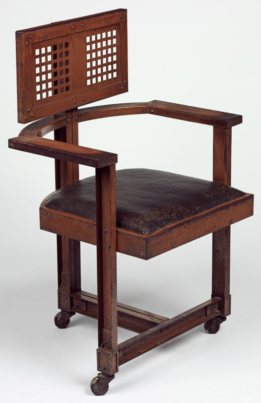 Office Chair Designed By Frank Lloyd Wright 1904 Museum No W 43 1981
