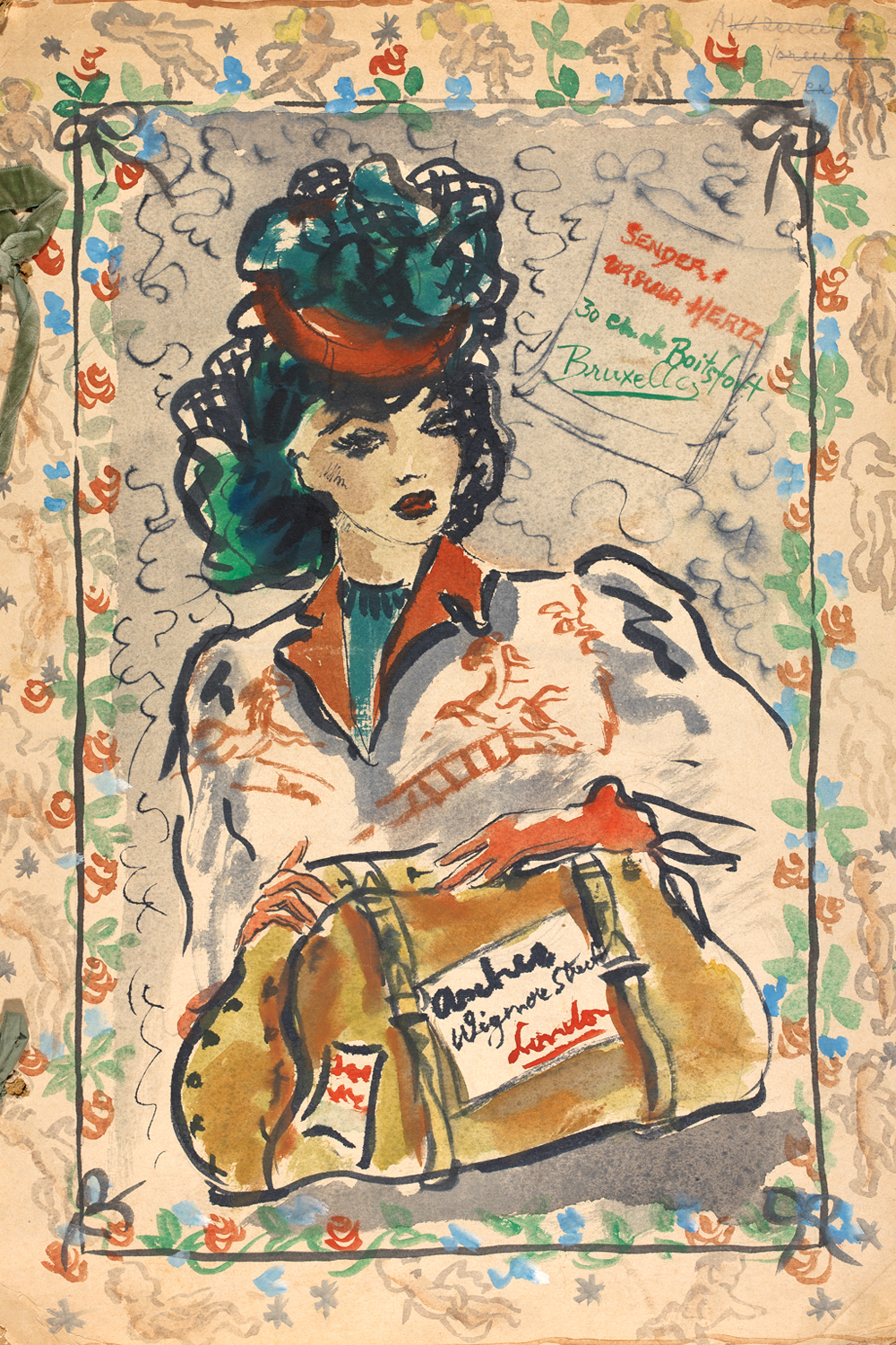 Fashion Drawing and Illustration in the 20th Century - Victoria and