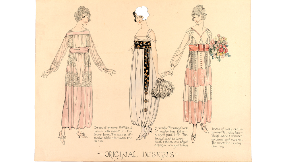 Fashion design women drawings
