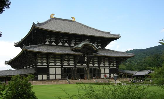 Temple At Nara Japan Photograph By Greg Irvine