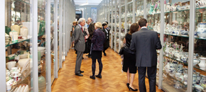 Development of the ceramics study galleries, 2010