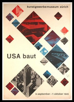 USA baut (USA builds), Max Bill. Museum no. E.217-1982